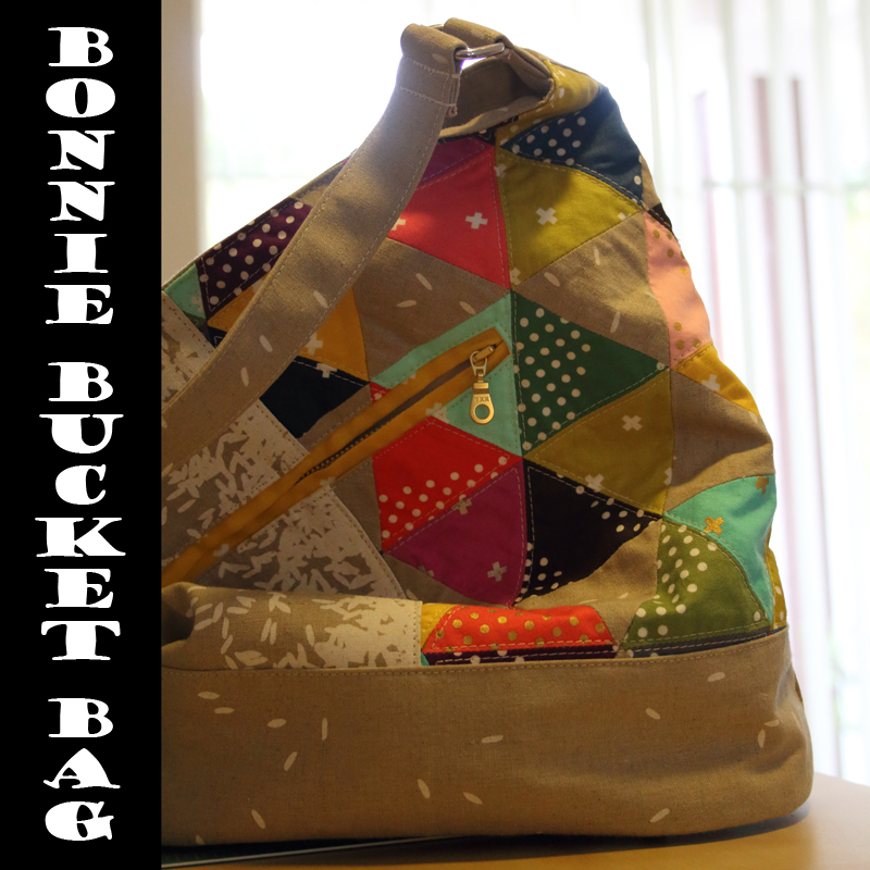 OMQG Bonnie Bucket Bag Sew Along….Finish Line