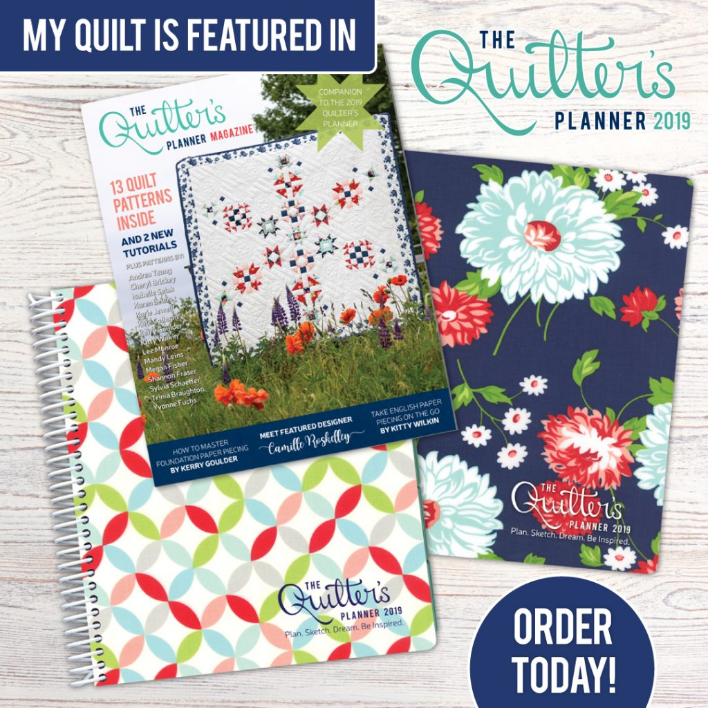 Quilter's Planner Pre-Order