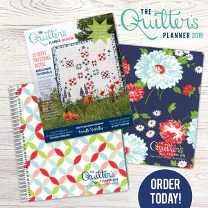 order your Quilter's Planner today