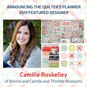 Pre-order the 2019 Quilter's Planner today