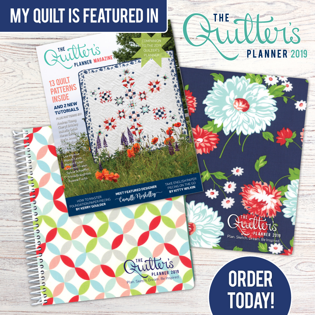 2019 Quilter's Planner…